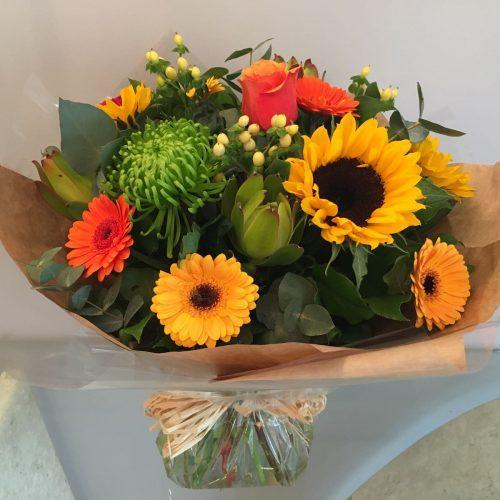 handtied flower bouquet aimee 2
