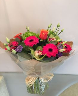 handtied flower bouquet louise